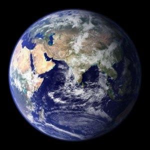 Earth, c/o NASA Goddard Space Flight Center