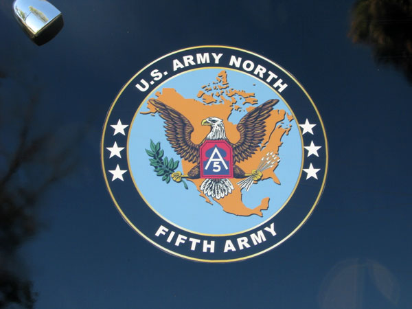 Insignia of the U.S. 5th Army North